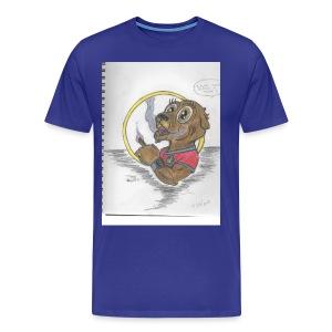 toker the gopher - Men's Premium T-Shirt