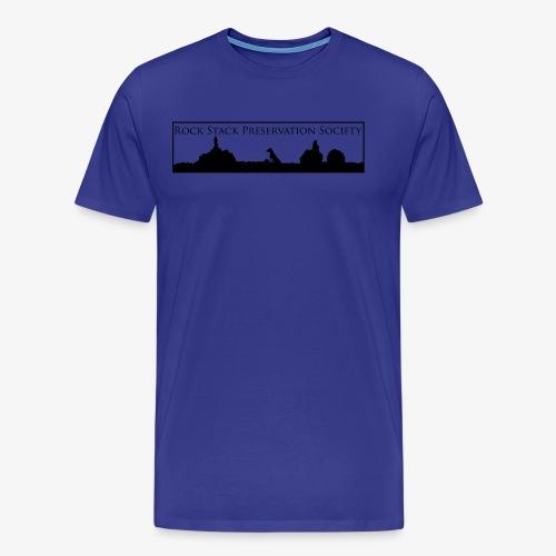 R.S.P.S. Rock Stack Distance - Men's Premium T-Shirt