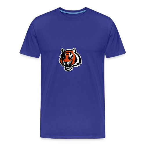 nfl logo black orange Logo - Men's Premium T-Shirt