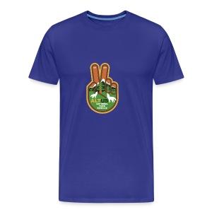 ALT US National Park Service - Peace - Men's Premium T-Shirt