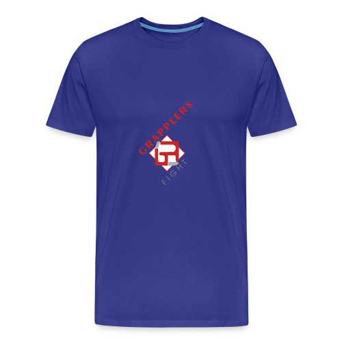 Dynamic 001 grapplersfight LOGO Front - Men's Premium T-Shirt