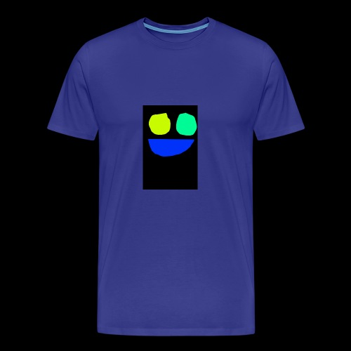 Smiley face colors - Men's Premium T-Shirt