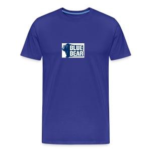 Blue Bear logo - Men's Premium T-Shirt