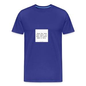 e4ba8bbc1d6516e2a24e5827f27368c0 cool friendship - Men's Premium T-Shirt