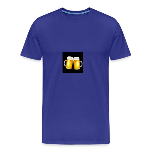 Beer Mugs - Let's Cheers! - Men's Premium T-Shirt