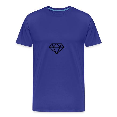 a dimond logo - Men's Premium T-Shirt