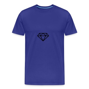 a dimond logo - Men's Premium T-Shirt
