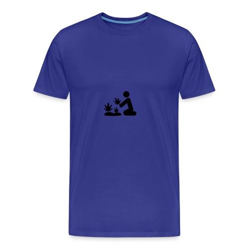 Weed Plant Phone Case - Men's Premium T-Shirt