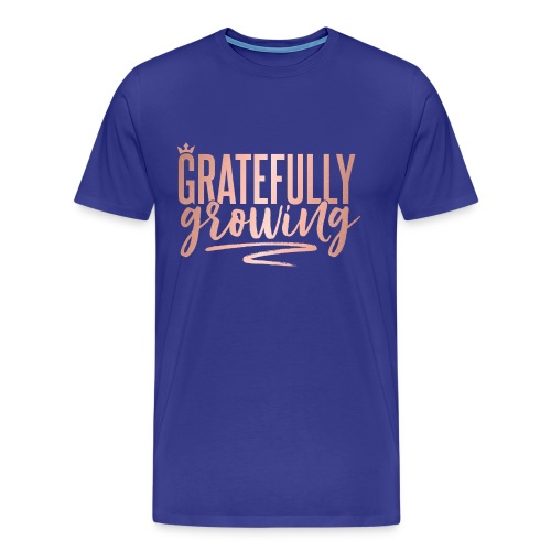 Gratefully Growing - You Shine - Men's Premium T-Shirt