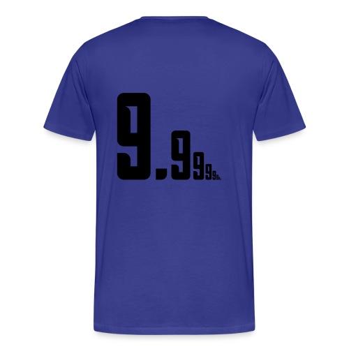 Number 10 - Men's Premium T-Shirt