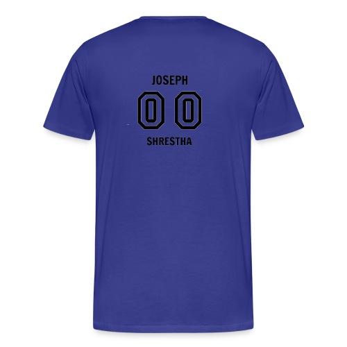 Joseph Shrestha's Jersey - Men's Premium T-Shirt