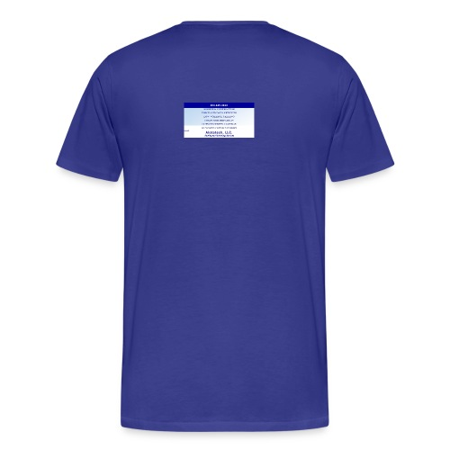 Big Sign Design 1 - Men's Premium T-Shirt