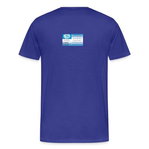 Business sign design 1 - Men's Premium T-Shirt