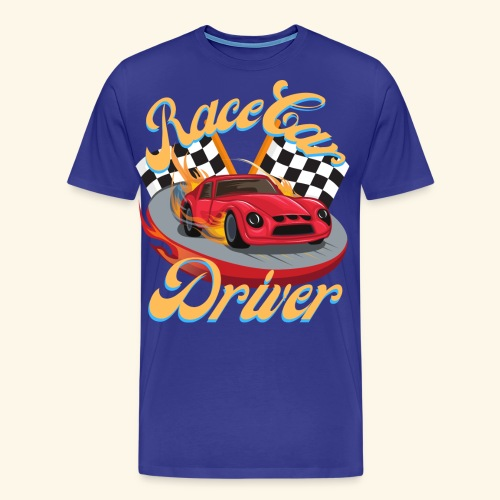 Race Car Driver - Men's Premium T-Shirt