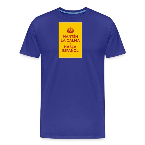 keepcalmposter - Men's Premium T-Shirt