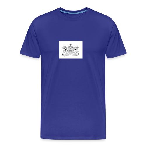 NO way man crowns of cougar - Men's Premium T-Shirt