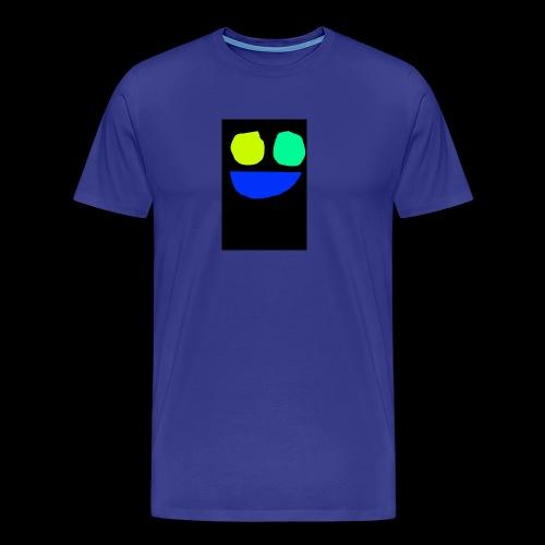 Smiley face colors - Men's Premium T-Shirt