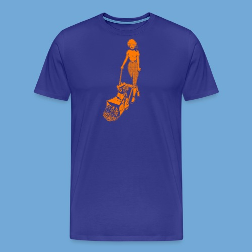 Roto-Hoe Orange - Men's Premium T-Shirt