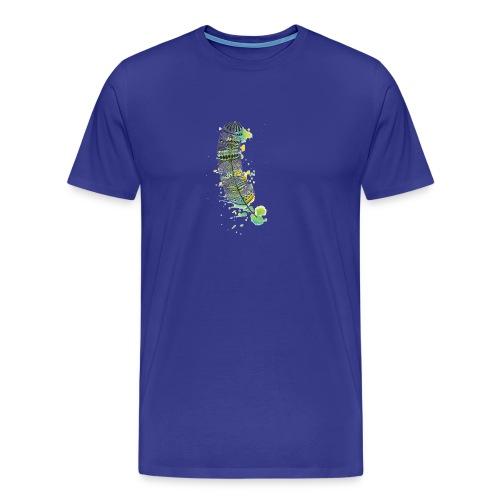 Geometric Feather - Men's Premium T-Shirt
