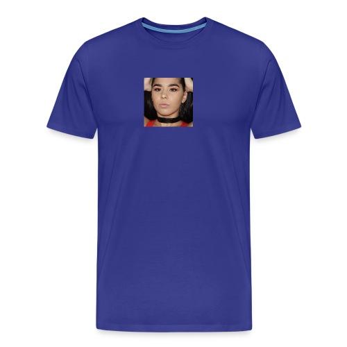 Orange & Black Cut Crease - Men's Premium T-Shirt