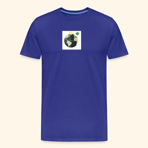 The Official Caleb Quarshie Logo - Men's Premium T-Shirt