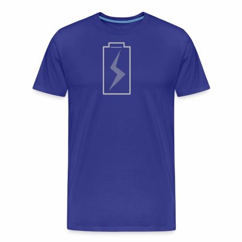 battery charging - Men's Premium T-Shirt