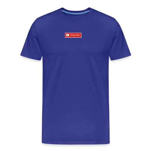 YOUTUBE SUBSCRIBE - Men's Premium T-Shirt
