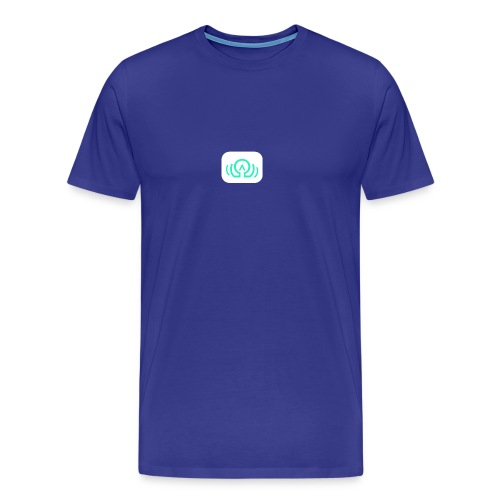 AudiOmega logo - Men's Premium T-Shirt
