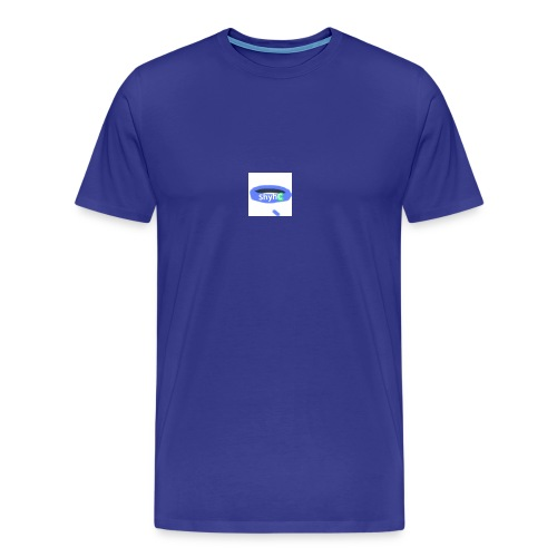 ShyhB (Blue) Wristband - Men's Premium T-Shirt