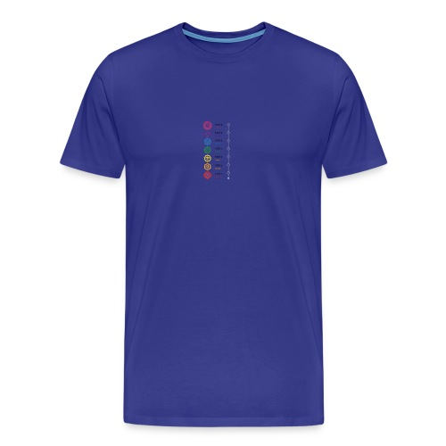 chakra steps - Men's Premium T-Shirt