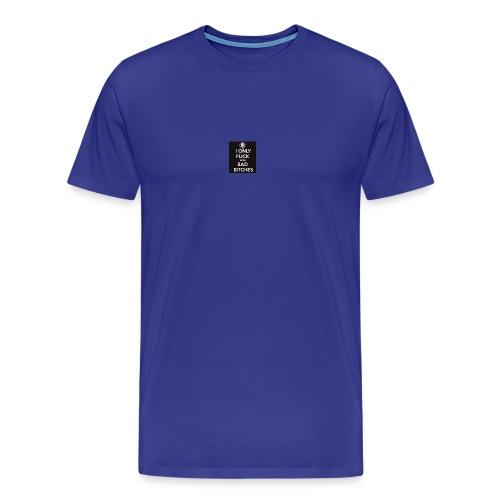 bitches - Men's Premium T-Shirt