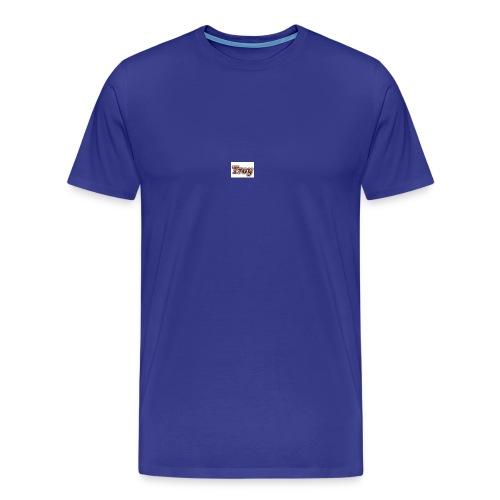 Troy Logo - Men's Premium T-Shirt