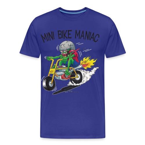 Original Mini Bike Maniac black letters - Men's Premium T-Shirt
