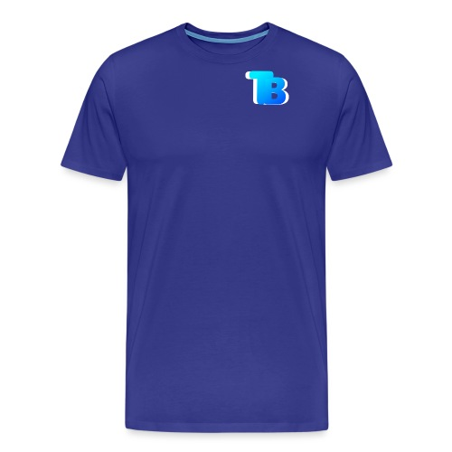 Trublu Overlapping letter Design - Men's Premium T-Shirt