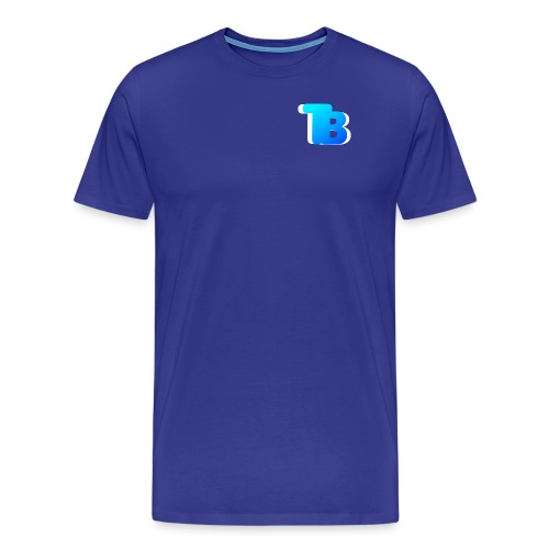 Trublu Overlapping letter Design - Men's Premium T-Shirt