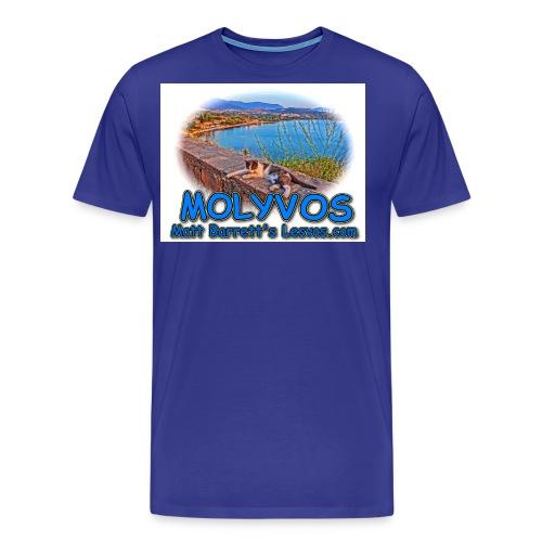 Molyvos cat jpg - Men's Premium T-Shirt