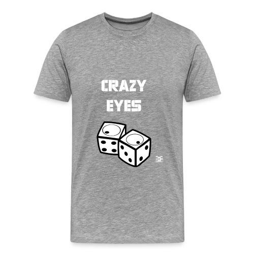 Crazy eyes Diceb final - Men's Premium T-Shirt