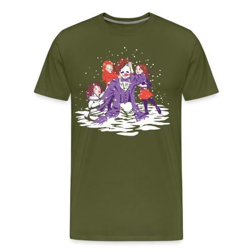 snowman take 2 - Men's Premium T-Shirt