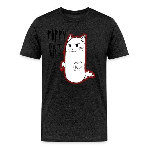 cat shirt poppy - Men's Premium T-Shirt