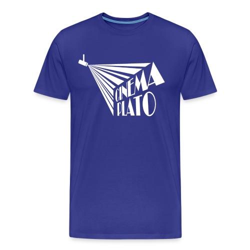 Cinema Plato white copy png - Men's Premium T-Shirt