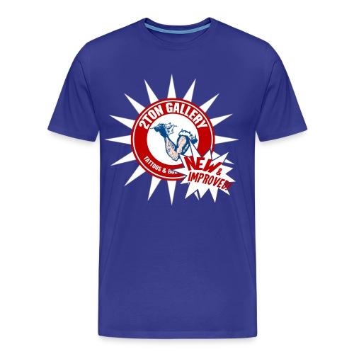 2tonnewimproved - Men's Premium T-Shirt