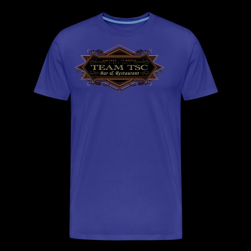 teamTSC badge03 Bar - Men's Premium T-Shirt