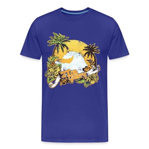 2tonbeachbummerdis - Men's Premium T-Shirt