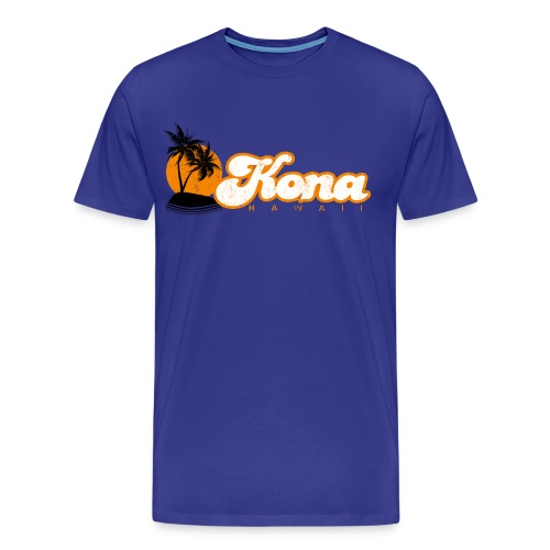 Kona Hawaii - Men's Premium T-Shirt