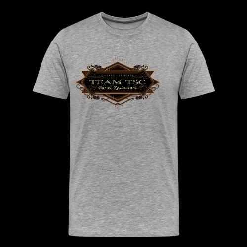 teamTSC badge03 Bar - Men's Premium T-Shirt