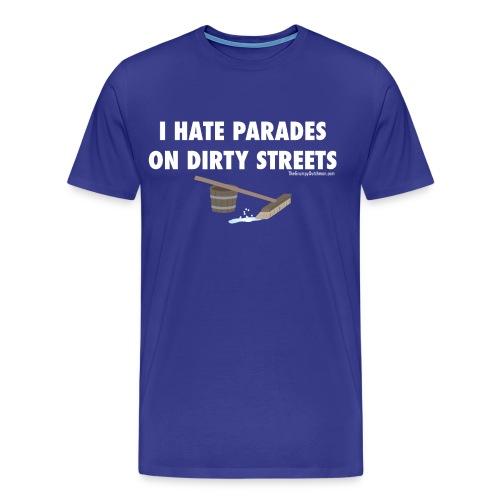 13 Parades white lettering - Men's Premium T-Shirt