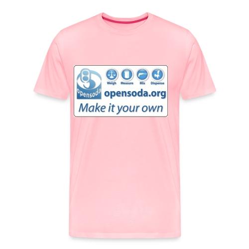 opensodalogo new larger - Men's Premium T-Shirt