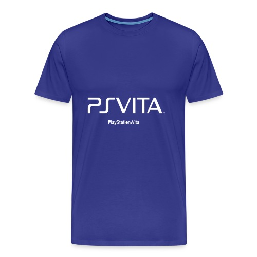 PS Vita Logo - Men's Premium T-Shirt