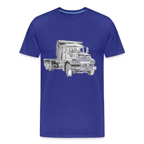 Flatbed Truck - Men's Premium T-Shirt