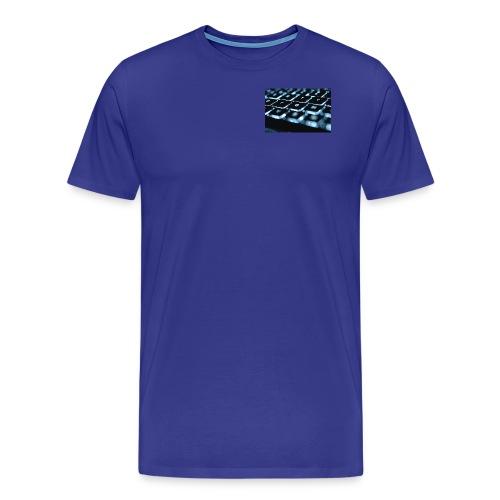 Glowing Keyboard - Men's Premium T-Shirt